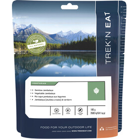 Trek'n Eat Comida Outdoor Vegetariana 180g, Vegetable Jabalaya